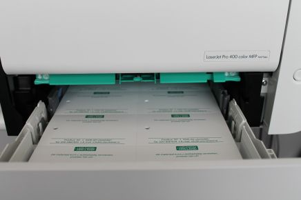 PE-labels printen